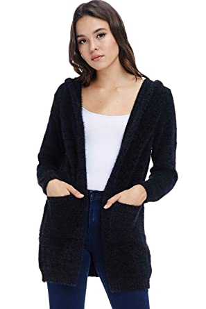 A+D Sweaters for Women - Soft and Warm Cardigan Sweaters with Hoodie ... b9de033fd