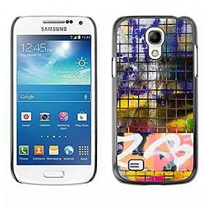 Print Motif Coque de protection Case Cover // V00002361 frontera Graffiti // Samsung Galaxy S4 Mini i9190