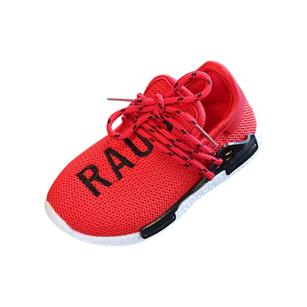 Toddler Boys Girls Bear Bottom Sneakers Casual Running Shoes Suma-ma Kids Babys Mesh Letter Sports Shoes