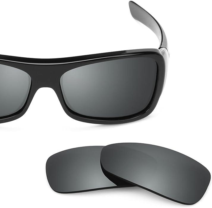 1c6022a43eebd Revant Polarized Replacement Lenses for Oakley Montefrio Elite Black Chrome  MirrorShield