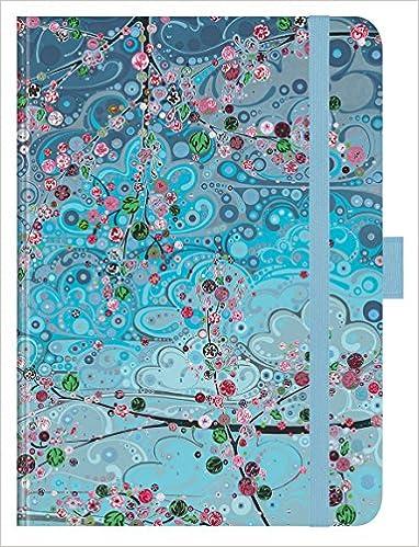 """12 x 17 cm Katie Allen Taschenkalender Premium Timer Big /""""Sky 2019/"""""""
