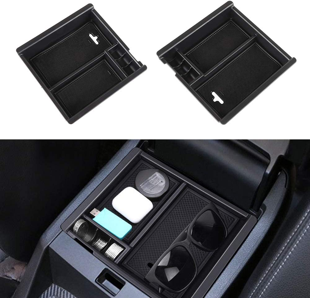 LSAILON Center Console Pocket Organizer for 2016-2018 Toyota Tacoma