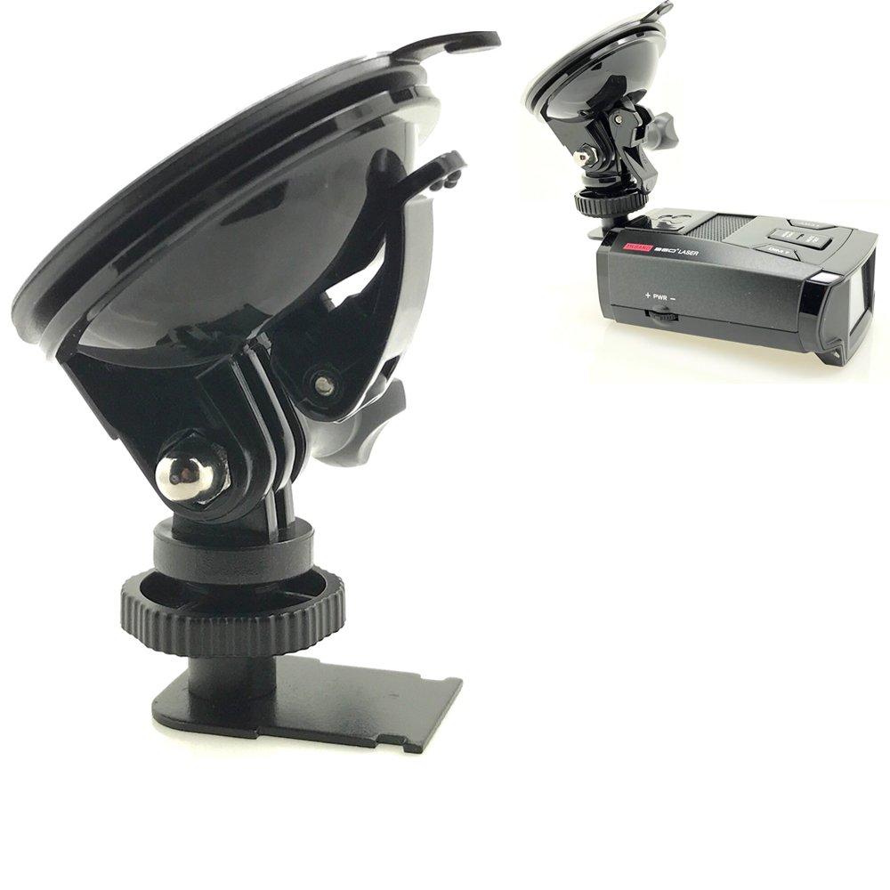 Super Sticky Radar Detector de ventosa ventosa de succión para Cobra detector de radar SPX 5000 5300 5400 5500 6500 6600 6700 7700 7800 7800bt Radar: ...