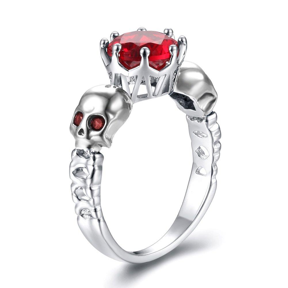 Impression 1pcs Anelli Anello Corona Scheletro Anello di diamanti di moda anello di vetro Girl Accessori della gioielli festa di San Valentino regali di matrimonio anello aperto colore: C cod. YXFR264 YXYP
