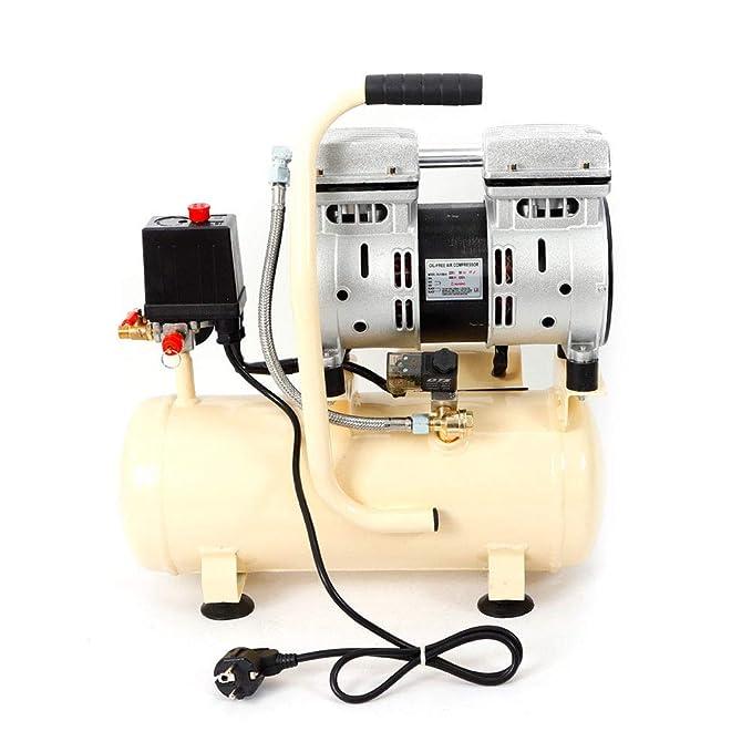 Z&Y Compresor de aire 8L Silencioso Sin aceite Mantenimiento Compresor silencioso Aire comprimido 550W: Amazon.es: Bricolaje y herramientas