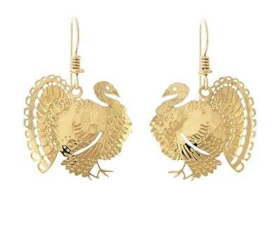 Wild Bryde Jewelry - Turkey dangle earrings