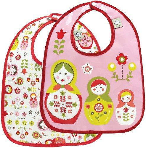 Sugar Booger Mini Bib Set Matryoshka Doll