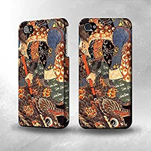 Apple iPhone 4 / 4S Case - The Best 3D Full Wrap iPhone Case - Ronin Miyamoto Musashi