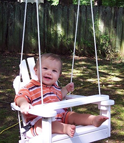 Review Unfinished Children's Adirondack Swing
