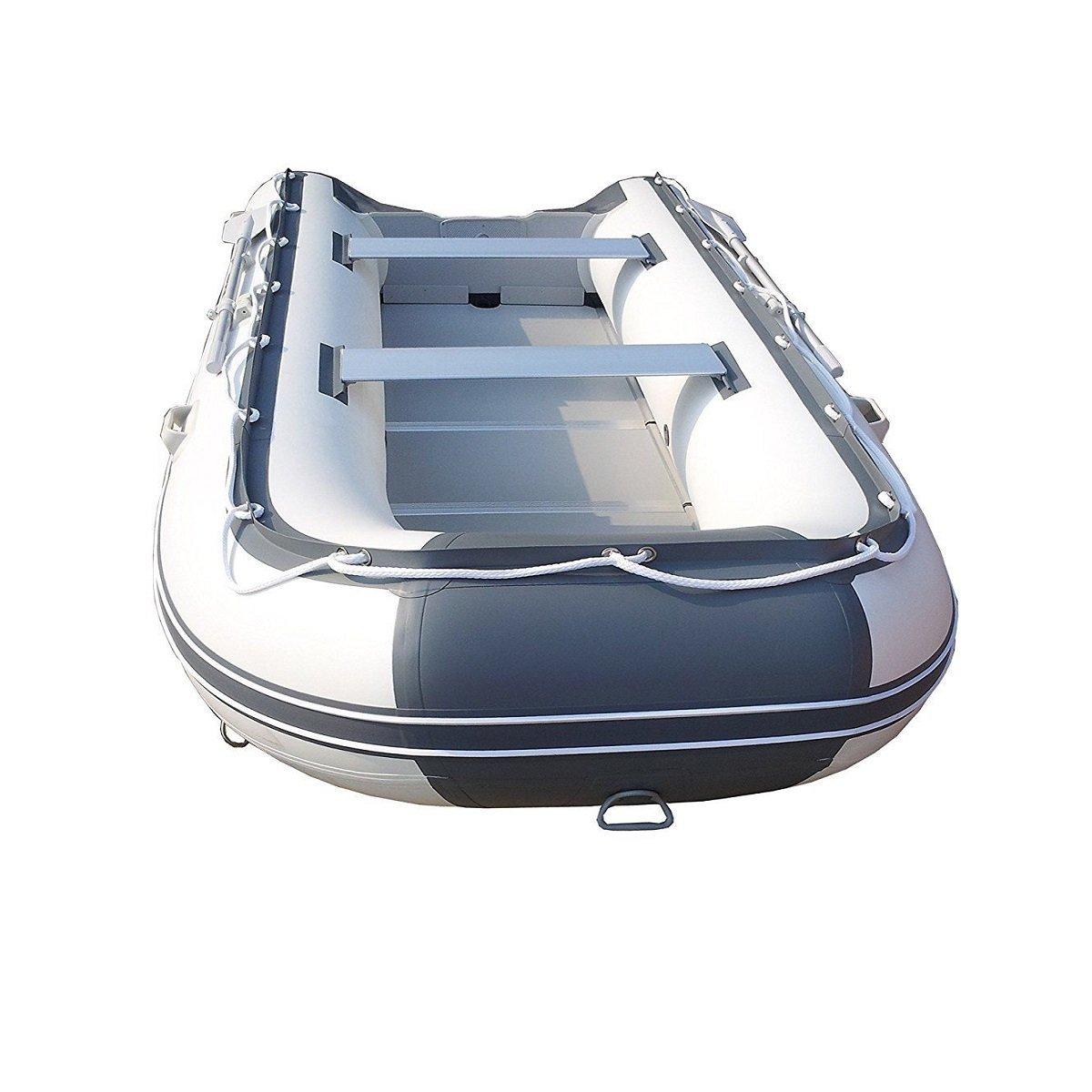 melivo 8,9 Balsa inflable barco yate Tender pesca Balsa gris ...