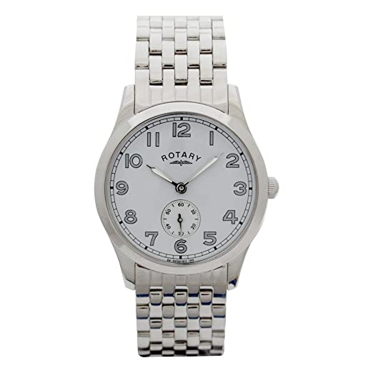 19f1efb7a71a Rotary Quartz Analogue GB72411 44 Gents Watch  Amazon.co.uk  Watches