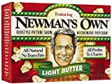 Newman's Own Microwave Popcorn Light Butter -3 bags, 10.5 oz.