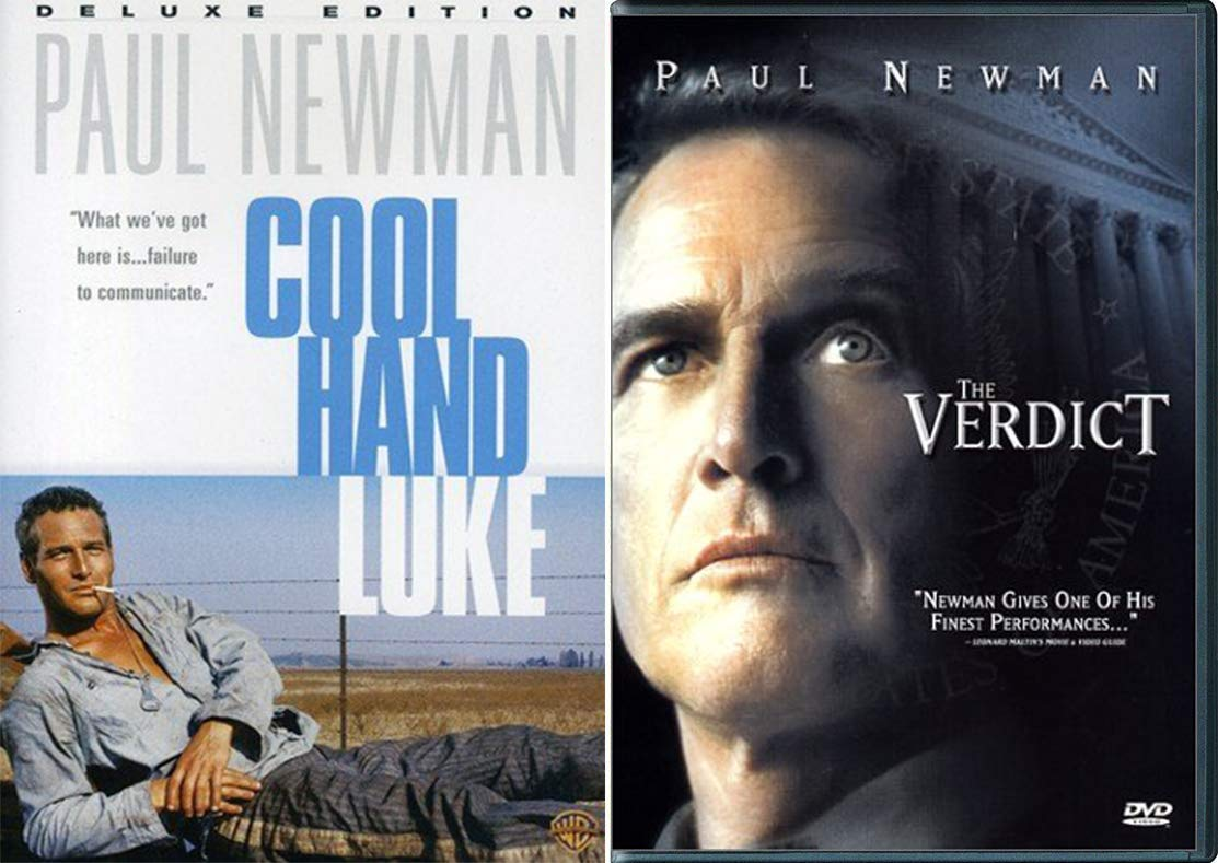 Courtroom drama Paul Newman Verdict + Chain Gang Cool Hand Luke ...