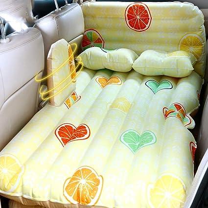 ZAQI Colchon Hinchable Cama para Coche SUV Cama de Aire dedicada para niños, colchón extendido