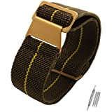 Span Realm Man's Parachute Special Elastic Nylon Band 20/22mm High-end Superior Watch Nylon Strap Watchband