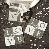 LOVE Coaster Wedding Favors (Set of 2), 72