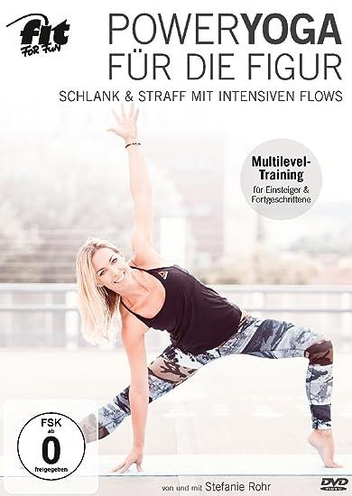 Cover: Stefanie Rohr Poweryoga für die Figur