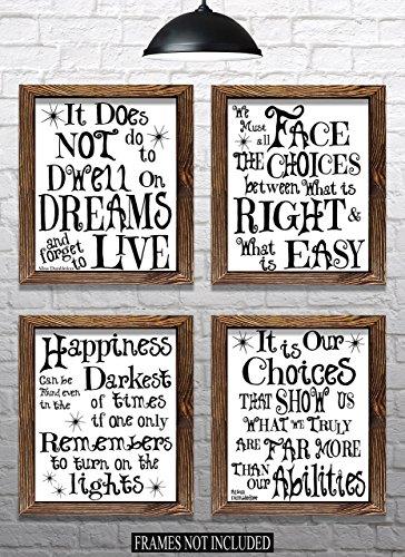 Potter Harry Border - Harry Potter Christmas Gift - Set of 4 - 8