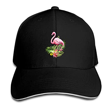FHDA Gorra de béisbol clásica con diseño de flamencos, Ajustable ...