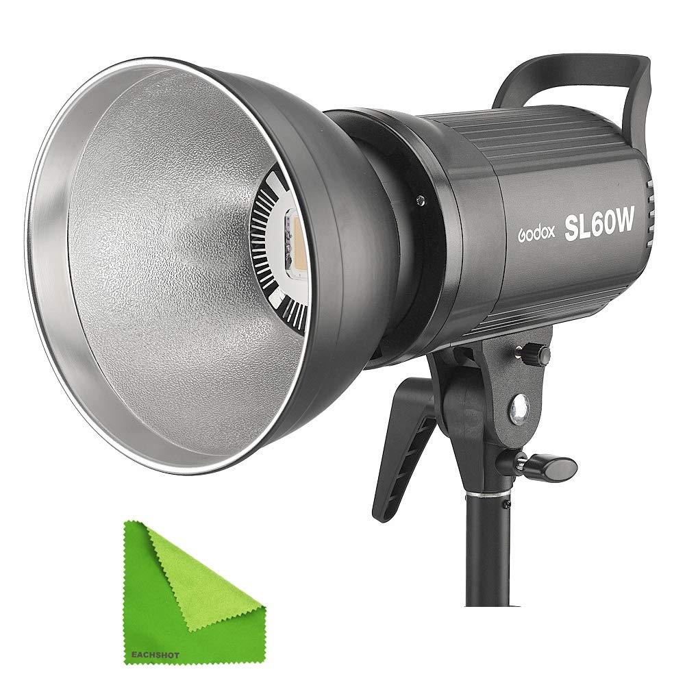 Godox SL60W SL-60W 5600K Daylight Studio Continuous LED Video Light Lamp w/Bowens Mount by Godox