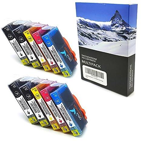 12 xPATRONEN HP 364XL compatible con para HP Photosmart 5510 5514 ...