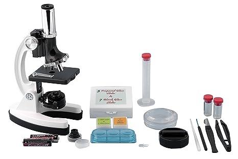 Systemworks m1000 52 pc mikroskop set mit tragetasche 300x 600x