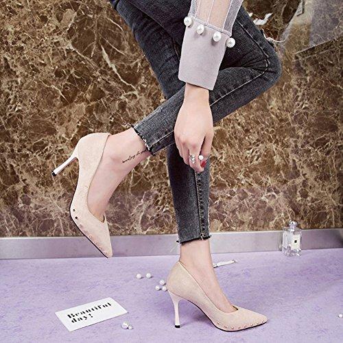 Vrouwen Sexy Hoge Hakken Stiletto Pompen Lente Mode Nieuw Element Schoenen