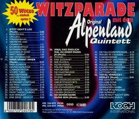 Original Alpenland Quintett Amazoncouk Music
