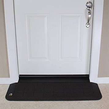 EZEdge Transition Threshold R& For a Door Sill 1/2\u0026quot; Rise Various & Amazon.com: EZEdge Transition Threshold Ramp For a Door Sill 1/2 ...