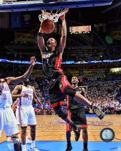 Chris Bosh - Game 2 of the 2012 NBA Finals 8x10 Photo (Miami Heat)