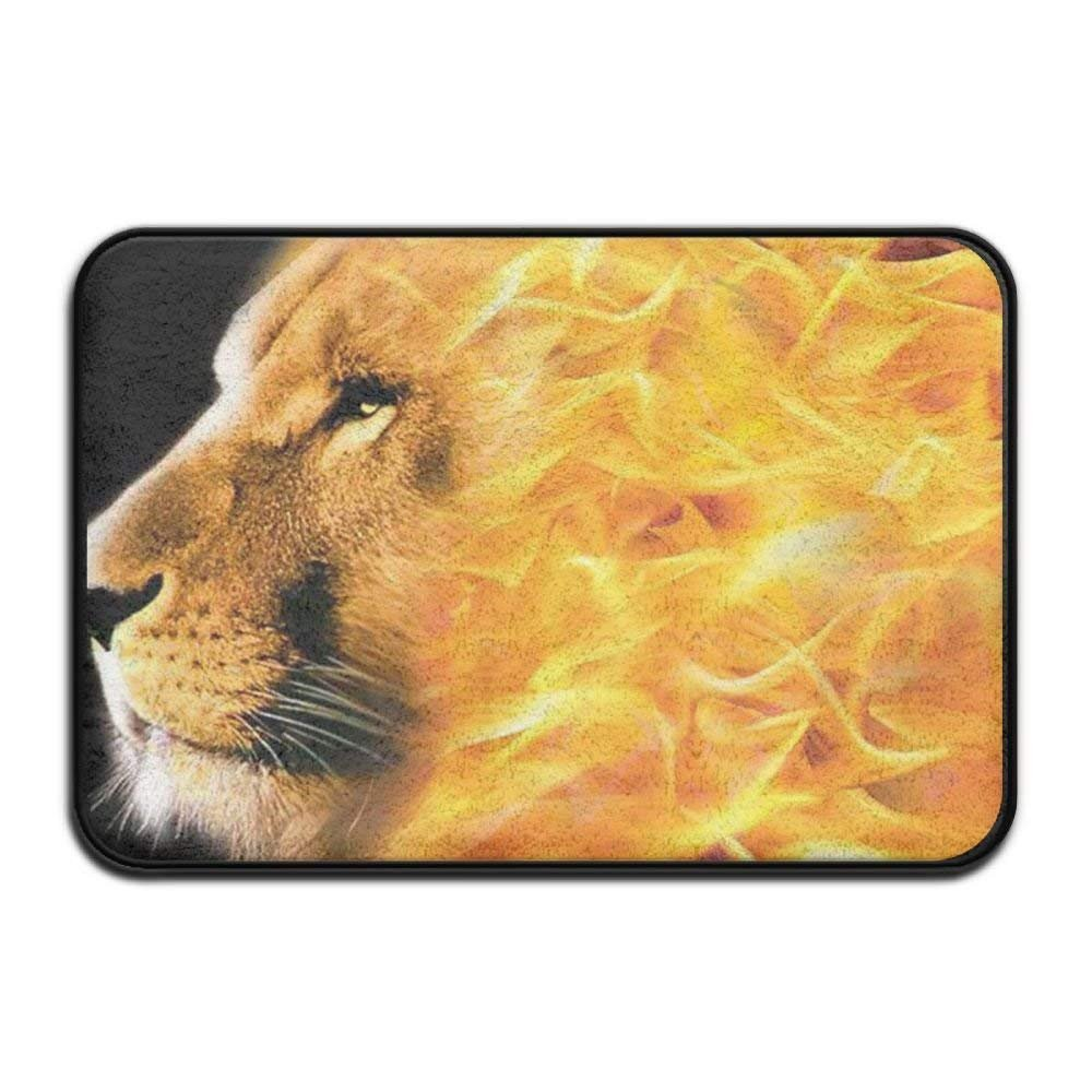 nuohaoshangmao HOMESTORES African Flag Rasta Lion Rastafari Jamaica Reggae Bath Mat - Memory Foam Shower Spa Rug Bathroom Kitchen Floor Carpet Home Decor Non Slip Backing23.6 x 15.7'' inch