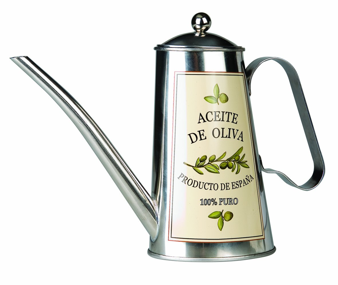 Ibili stainless steel olive oil can Aceite de Olivia 705005