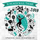 Magickal Year 2019: 16-Month Calendar - September 2018 through December 2019