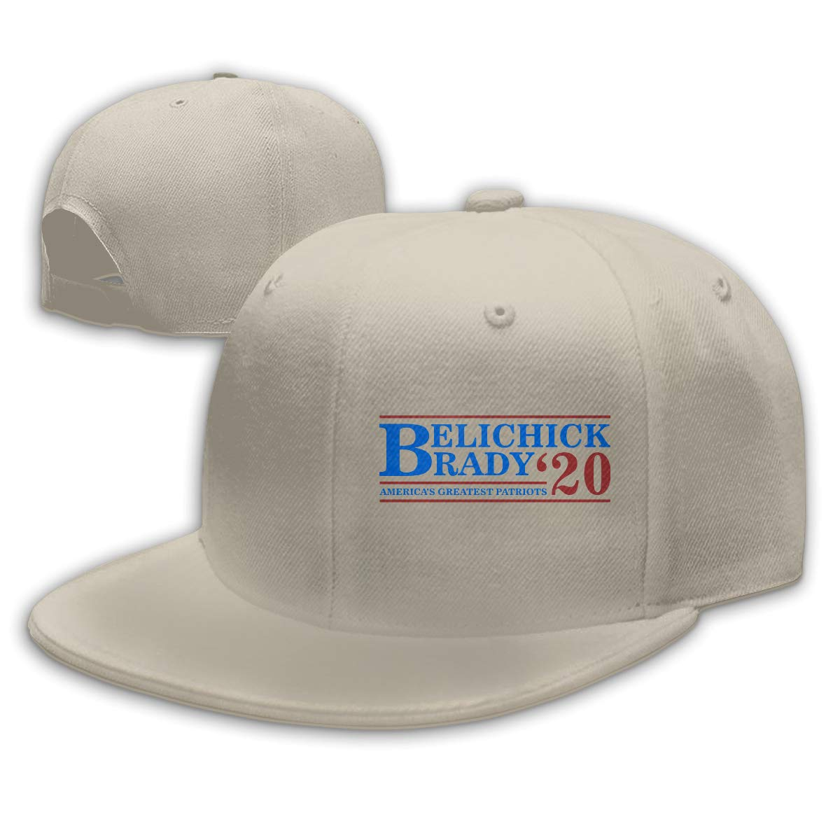 Belichick and Brady for President 2020 Unisex Snapback Hats Flat Bill Baseball Cap Dad Hat