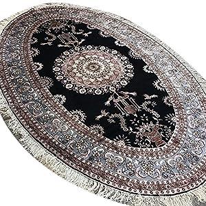 Yilong 5'x8′ Vintage Oriental Dining Room Carpet Persian Silk Handmade Area Rug