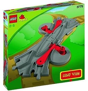 Spieldosen Lego Duplo Eisenbahn 2x Gebogene Schienen nr 2735