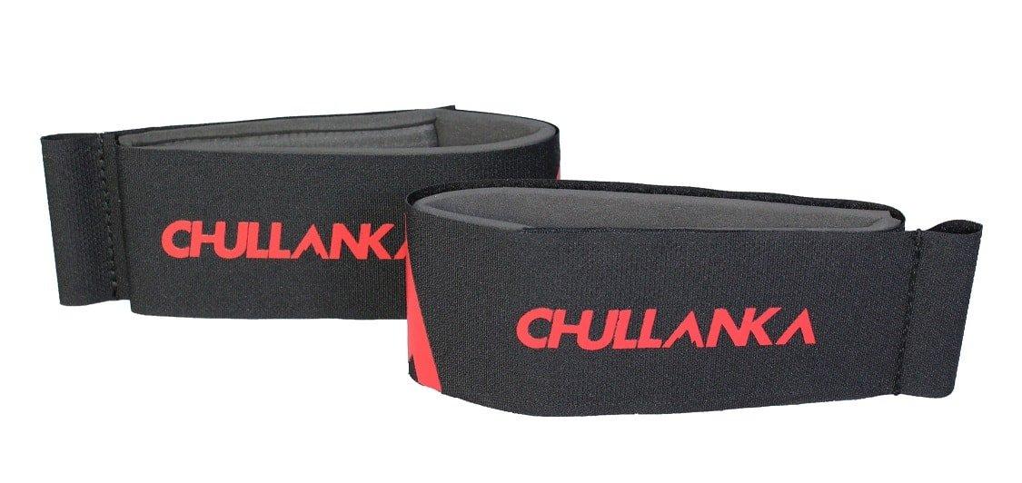 CHULLANKA Attaches Skis Velcro X2 Ski Alpin