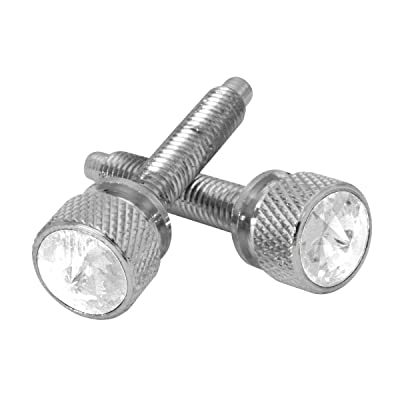 GG Grand General 67292 Chrome Long Dash Screw with Clear Crystal for Kenworth 2001 Up: Automotive