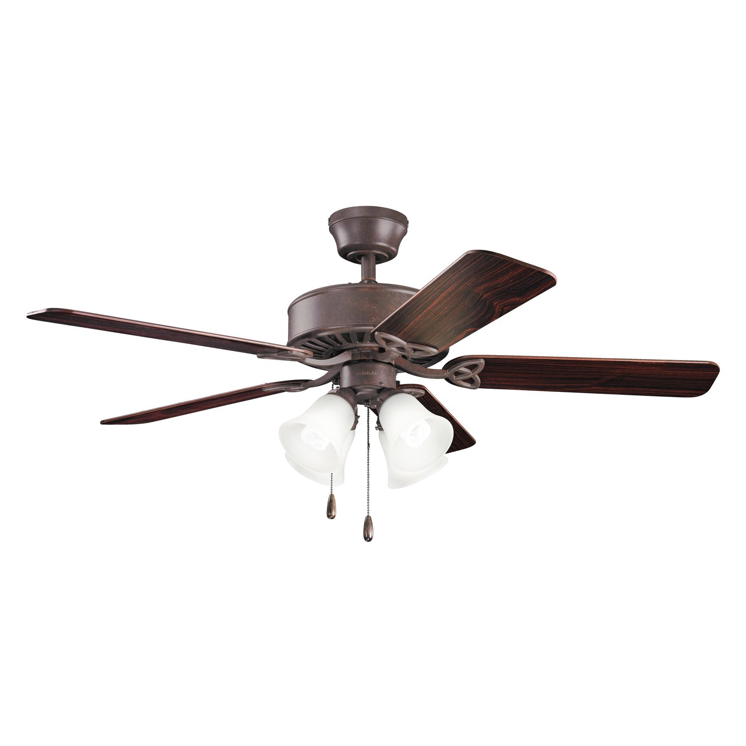 Kichler 339240WH, Renew Premier White 50' Ceiling Fan with Light Renew Premier White 50 Ceiling Fan with Light