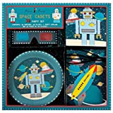 Meri Meri Party Set, 3D Robot - Space Cadets