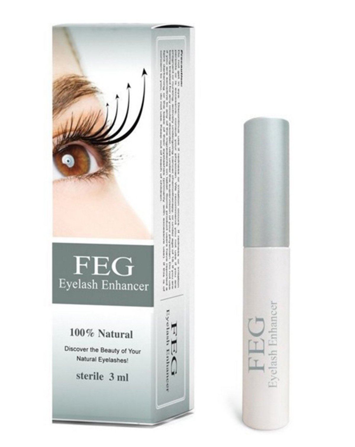 Amazon Feg Eyelash Enhancer Eye Lash Rapid Growth Serum Liquid