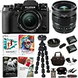 Fujifilm X-T2 Mirrorless Digital Camera with 18-55mm and 16mm Lens and Software Bundle
