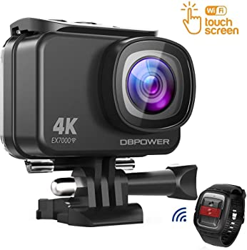 DBPOWER EX7000 Sports Action Camera and Accessories Kit