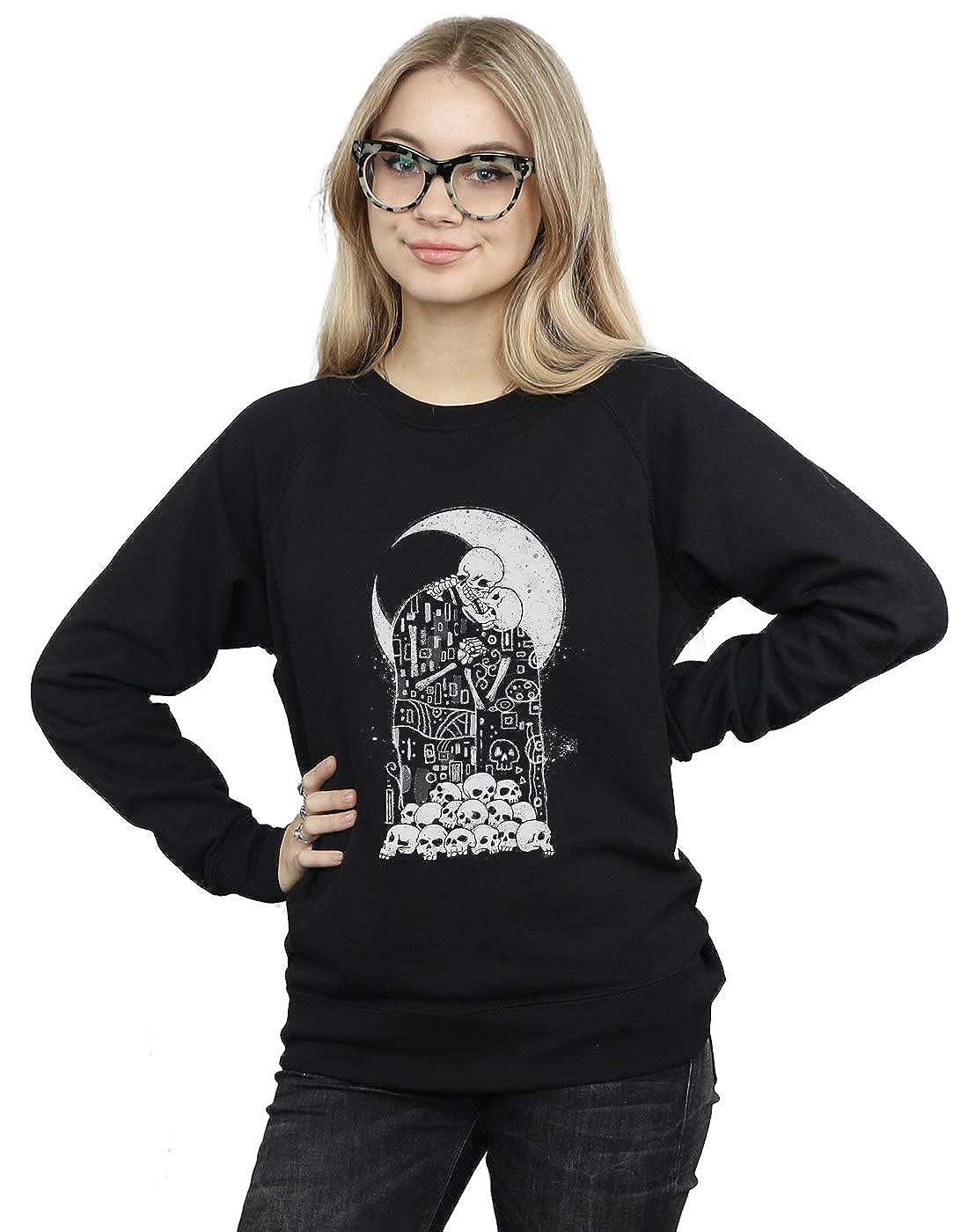 Vincent Trinidad Womens Kiss of Death Sweatshirt