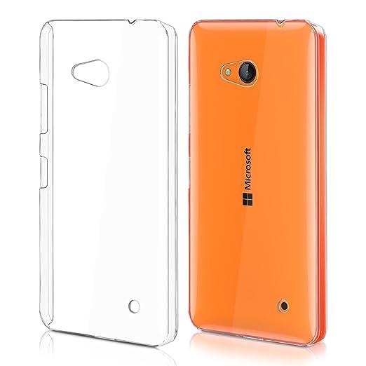 18 opinioni per kwmobile Cover per Microsoft Lumia 640- Custodia trasparente per cellulare- Back