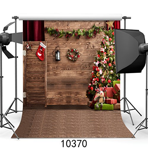 SJOLOON 10x10ft Christmas theme Pictorial cloth Customized photography Backdrop Background studio prop JLT10370