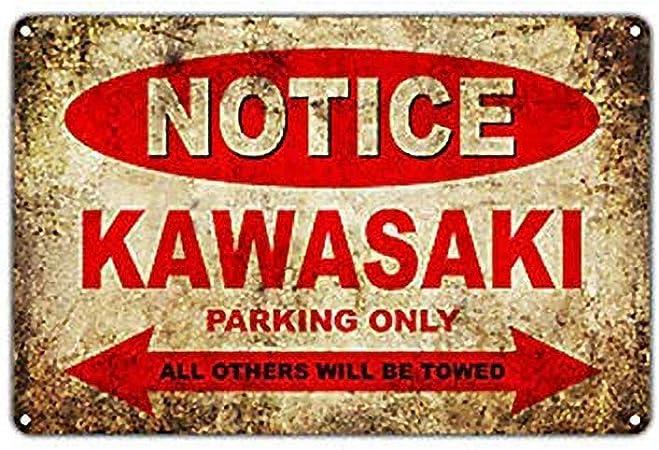 Plaque d/écoration alu m/étal 15x20 cm Place Kawasaki GRAVOPHOTO