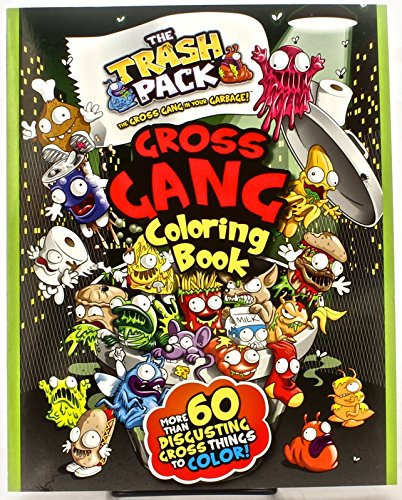 The Trash Pack Gross Gang Coloring Book Trash Pack Coloring Parragon Books 9781445494364 Amazon Com Books