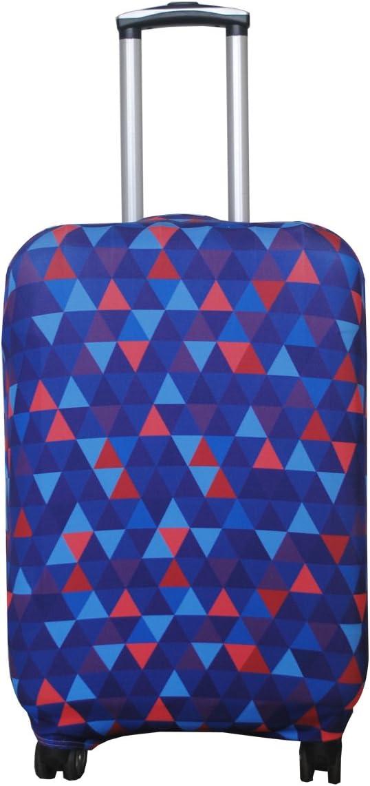 45,72-55,88 cm bagage Explore Land Spandex Housse /à bagages Valise trolley Coque de protection Compatible avec 18-81,3 cm bagages Multicolore Geometry S