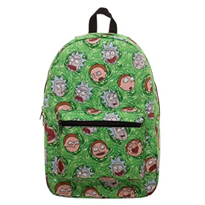 RIck and Morty Portal Sublimated All Over Print Backpack | Kids' Backpacks